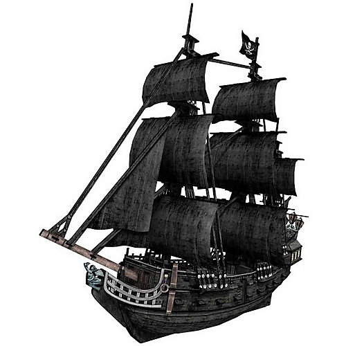 """3D пазл CubicFun """"Корабль Месть королевы Анны"""""""