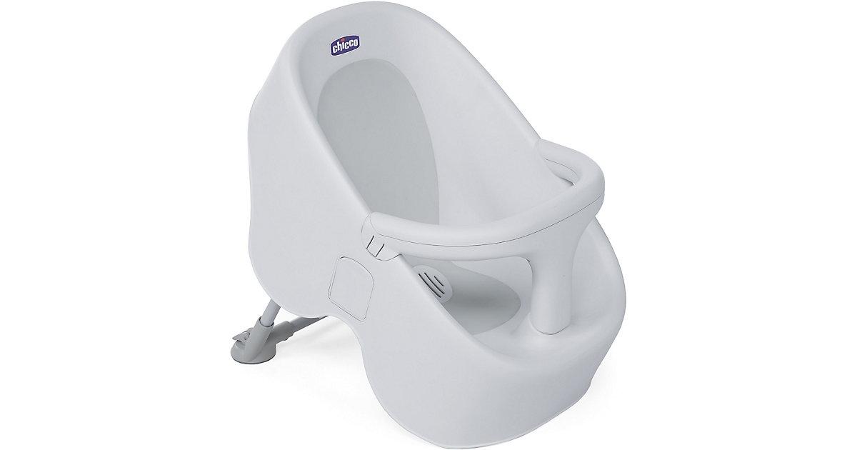 Chicco · Dusch-/Wannensitz Bubble Nest, Cool Grey