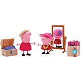 """Игровой набор Росмэн """"Свинка Пеппа"""" Пеппа и Бабушка в гардеробной"""