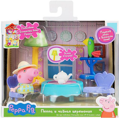 """Игровой набор Росмэн """"Свинка Пеппа"""" Пеппа и чайная церемония от Росмэн"""