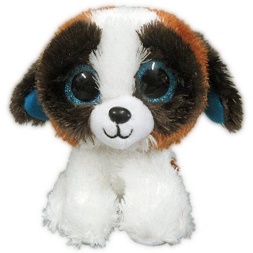 Мягкая игрушка ABtoys Собачка 15 см, бело-коричневая от ABtoys