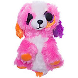 Мягкая игрушка ABtoys Собачка 15 см, розовая
