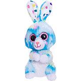 Мягкая игрушка ABtoys Кролик 15 см, голубой