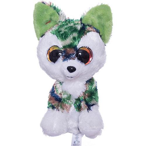 Мягкая игрушка Lumo Stars Волк Woody 15 см., серо-зелёный от Lumo Stars