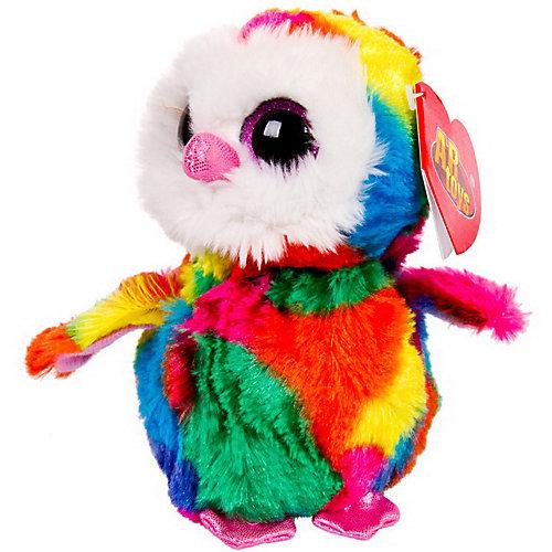 Мягкая игрушка ABtoys Совёнок 15 см, разноцветный от ABtoys