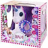Интерактивная игрушка Dimian Единорог Luna, свет и звук