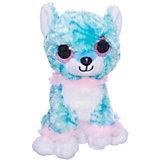 Мягкая игрушка ABtoys Собачка 15 см, голубая