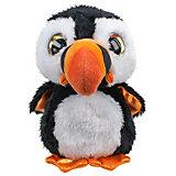 Мягкая игрушка Lumo Stars Тупик Lunni 15 см., чёрно-белый