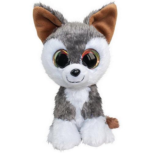 Мягкая игрушка Lumo Stars Волк Hukka 15 см., серый от Lumo Stars