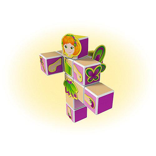 """Конструктор магнитный Geomag """"MagiCube"""" Принцессы, 35  деталей от Geomag"""