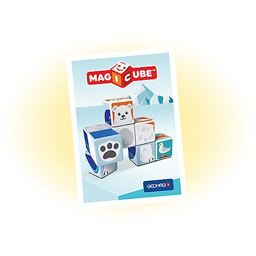 "Конструктор магнитный Geomag ""MagiCube"" Полярные друзья, 10  деталей от Geomag"