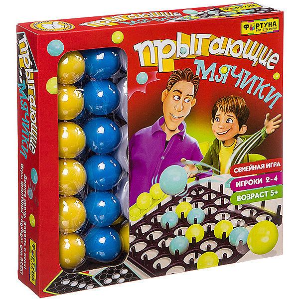 """Настольная игра Игра фортуны """"Прыгающие мячики"""""""