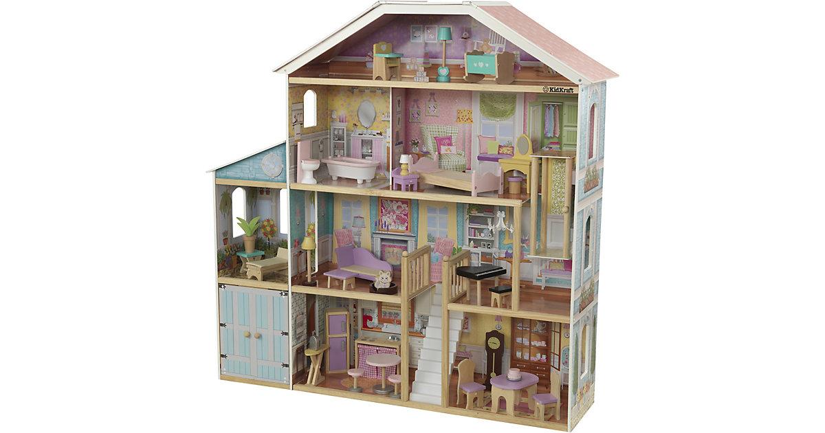 KidKraft · Grand View Mansion Puppenhaus aus Holz