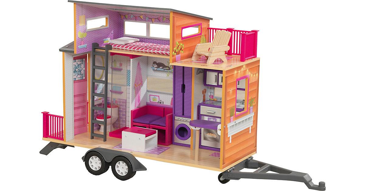 KidKraft · Teeny House Puppenhaus aus Holz mit Zubehör