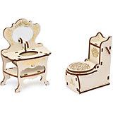 Набор мебели Одним прекрасным утром «Туалетная комната», коллекция «Барокко», 2 предмета