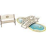 Набор Одним прекрасным утром «Скамейка, мостик, пруд», коллекция «Барокко»