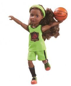 Кукла Kruselings Джой баскетболистка, 23 см