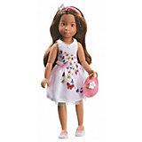 Кукла Kruselings София в летнем праздничном платье,, 23 см