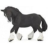 Фигурка PaPo Шайрская черная лошадь