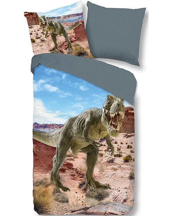 Wende Kinderbettwasche Dinosaurier 135 X 200 Cm