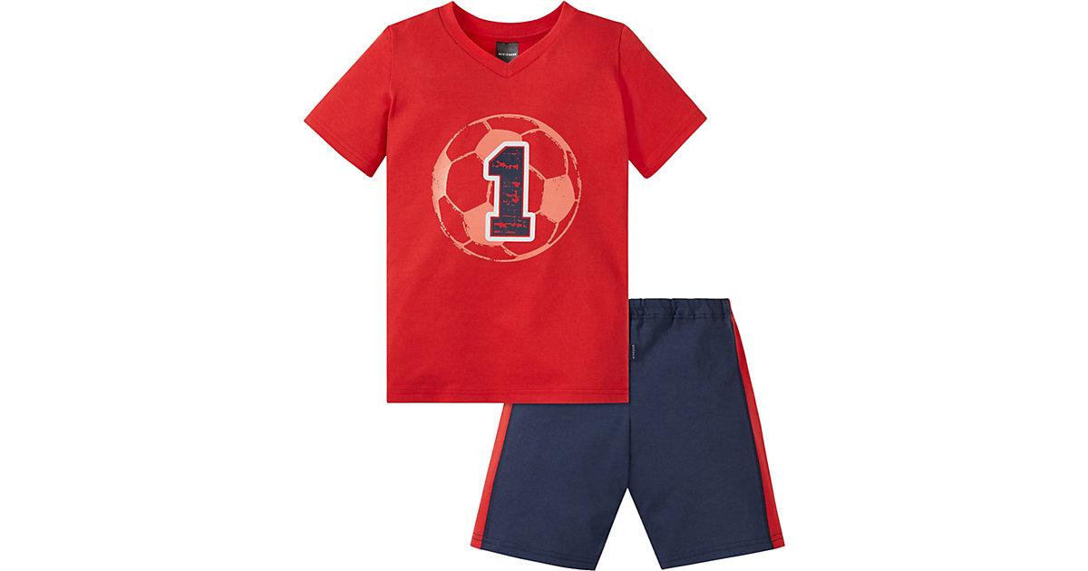 Schiesser · Schlafanzug , Fußball Gr. 104 Jungen Kleinkinder