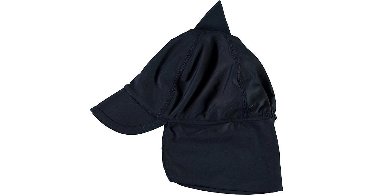 Sonnenhut NMMZANDO mit UV-Schutz  dunkelblau Gr. 46-47 Jungen Baby
