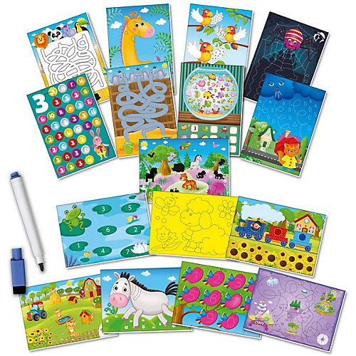 """Обучающий набор Vladi Toys """"Пиши и вытирай"""" Жираф: Базовый уровень от Vladi Toys"""