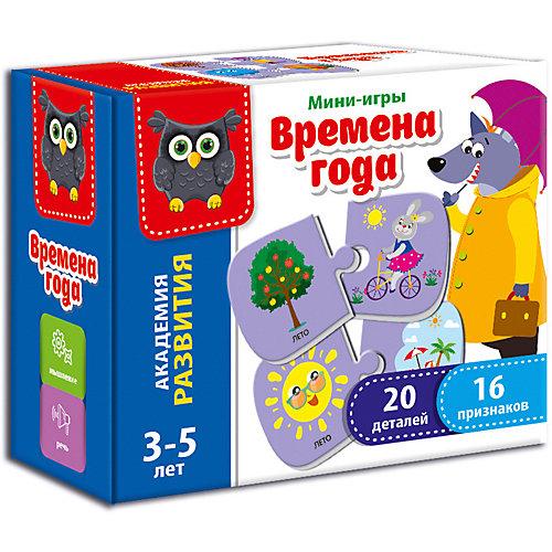 """Настольная игра Vladi Toys """"Мини-игра"""" Времена года от Vladi Toys"""