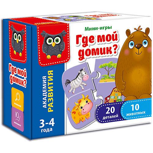 """Настольная игра Vladi Toys """"Мини-игра"""" Где мой домик от Vladi Toys"""