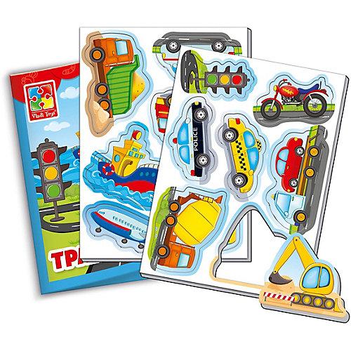 """Мягкие магниты Vladi Toys """"Мой маленький мир"""" Транспорт от Vladi Toys"""