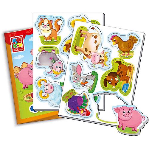 """Мягкие магниты Vladi Toys """"Мой маленький мир"""" Ферма от Vladi Toys"""