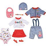 Одежда для куклы Zapf Creation Baby Born Супер набор, делюкс