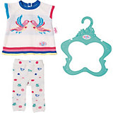 Одежда для куклы Zapf Creation Baby Born Трикотажный костюм