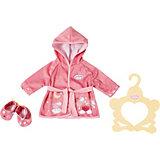 Одежда для куклы Zapf Creation Baby Annabell Уютный халатик и тапочки