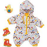 Одежда для куклы Zapf Creation Baby Born Осенний комбинезон с сапогами