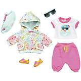 """Одежда для куклы Zapf Creation Baby born """"Делюкс"""", для велосипедной прогулки"""