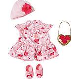Одежда для куклы Zapf Creation Baby Annabell Цветочная коллекция, делюкс