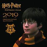 """Настенный календарь """"Гарри Поттер"""" 2019, Эксмо"""