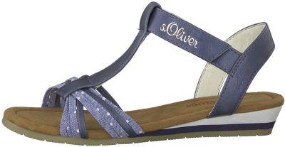 sandalen mädchen s oliver blau