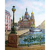 "Картина по номерам Molly ""Санкт- петербург"" Спас на крови, 40х50 см"