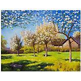 """Картина по номерам Molly """"Левитан"""" Цветущие яблони, 40х50 см"""