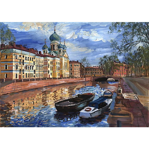 """Картина по номерам Molly """"Каналы Санкт-Петербурга"""", 40х50 см от Molly"""