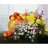 "Картина по номерам Molly ""Сунг Ли"" Натюрморт с яблоками, 40х50 см"