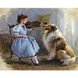 """Картина по номерам Molly """"Разумов"""" Благодарный слушатель, 40х50 см"""