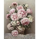 """Картина по номерам Molly """"Бузин"""" Розовые пионы, 40х50 см"""