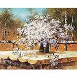 """Картина по номерам Molly """"Сунг Ли"""" Букет полевых ромашек, 40х50 см"""