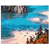 "Картина по номерам Molly ""Сунг Ли"" Голубое, 40х50 см"