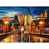 """Картина по номерам Molly """"Афремов"""" Ночь в Праге, 40х50 см"""