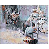 "Картина по номерам Molly ""Белки в лесу"", 40х50 см"