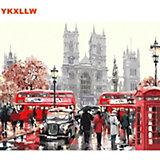 "Картина по номерам Molly ""Лондонский транспорт"", 40х50 см"